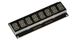 DSP-0801 8 digit alpha display