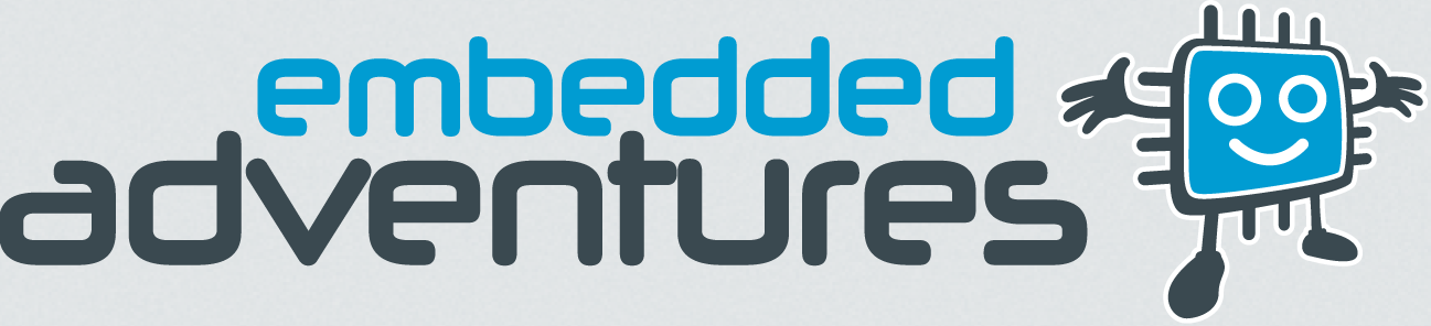 The awesome embedded adventures logo goes here!