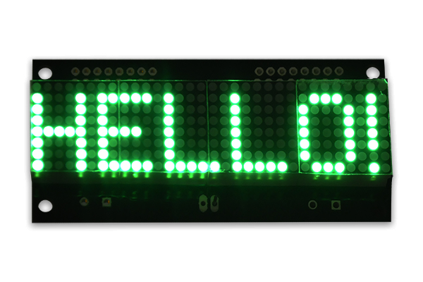 LED Matrix Display  - 32x08 - Green