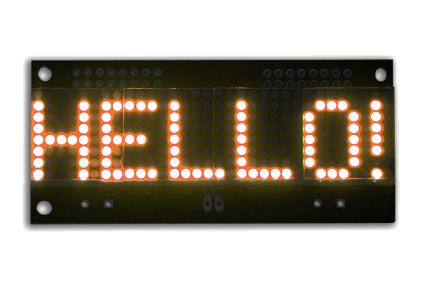 LED Matrix Display  - 32x08 - Red