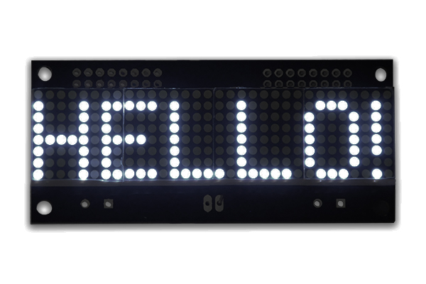 LED Matrix Display  - 32x08 - White