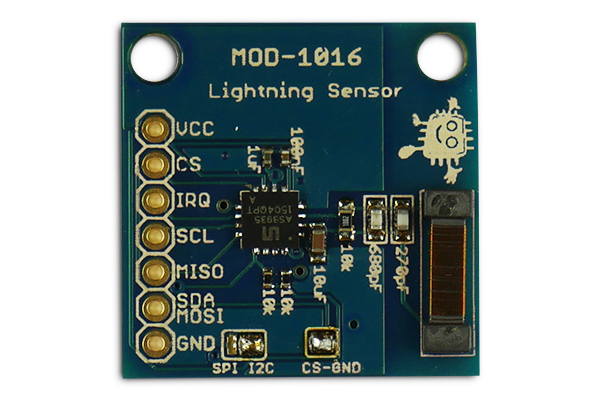 Embedded Adventures Products Mod 1016 As3935 Lightning