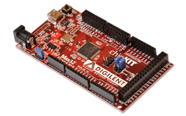 ChipKit Max32 Arduino compatible
