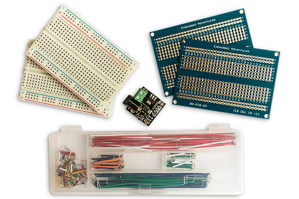 ProtoPak breadboards and PCBs