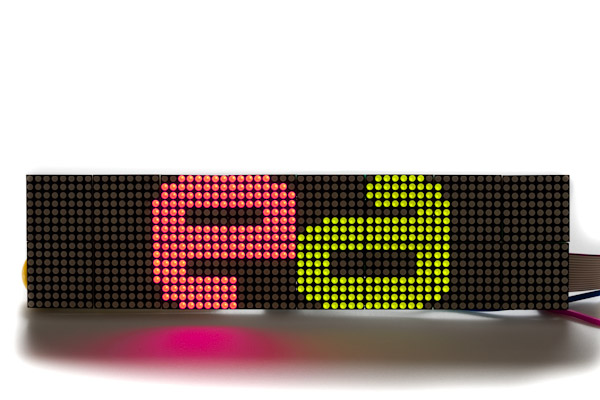 LED Matrix Display - 64x16 - P7.62