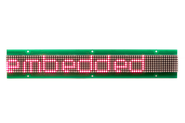 LED Matrix Display  - 80x08